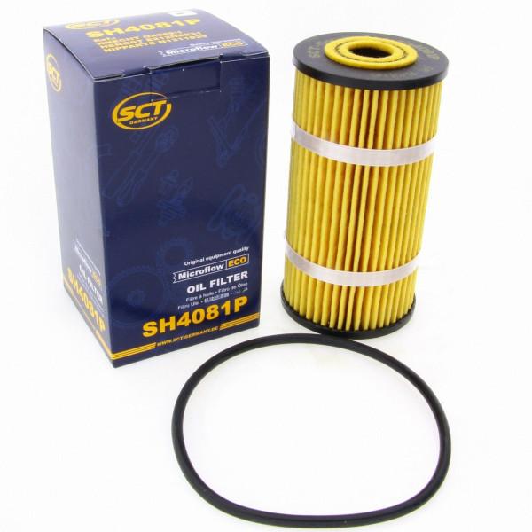 SCT Ölfilter SH4081P Filter Motorfilter Servicefilter Patronenfilter