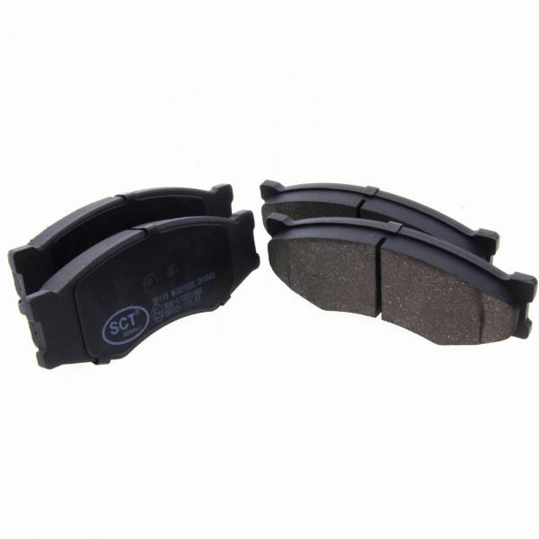 *** SCT Bremsbeläge SP 119 PR Bremsklötze Bremsbelagsatz vorne Nissan