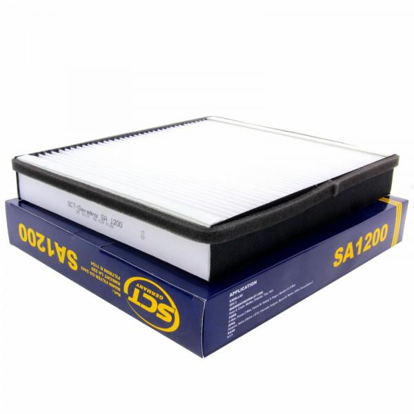SCT Innenraumfilter Luftfilter SA1200 Pollenfilter Luft Filter