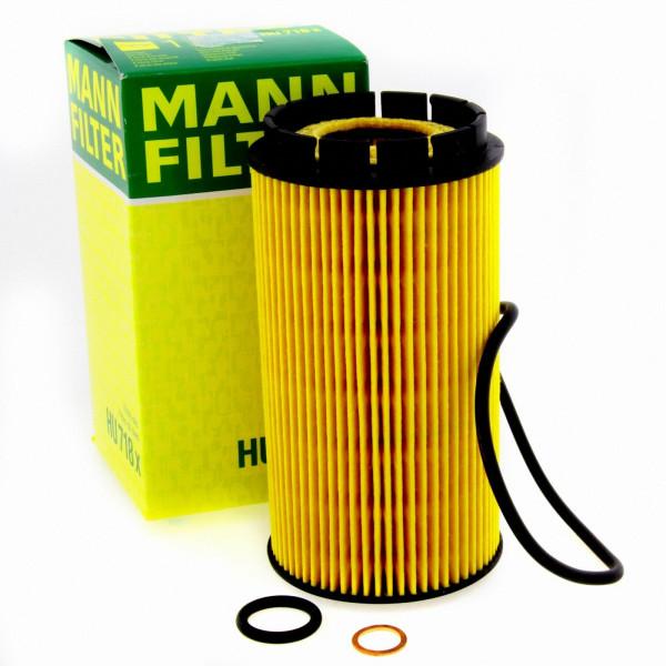 MANN Ölfilter Fahrzeugfilter HU718X Filter Chrysler Hyundai Jeep Kia