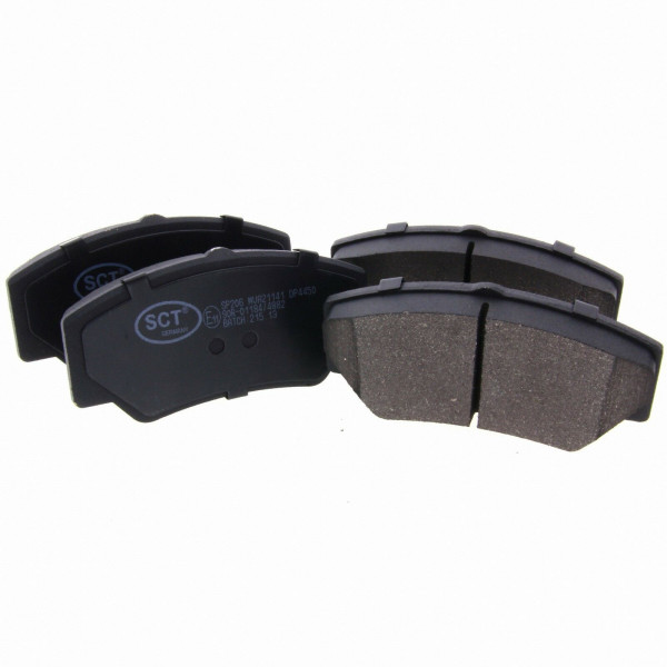*** SCT Bremsbeläge SP 206 PR Bremsklötze Bremsbelagsatz vorne Ford