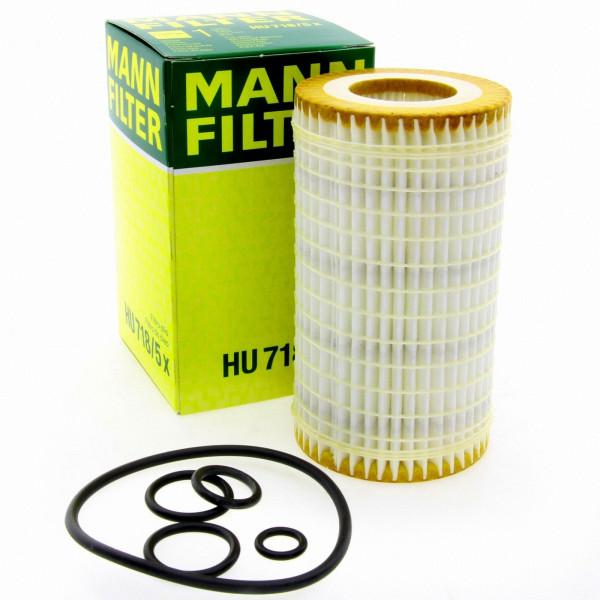 MANN Ölfilter Fahrzeugfilter HU7185X Filter Chrysler Mercedes Benz Puch