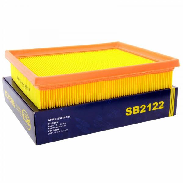 SCT Luftfilter Fahrzeugfilter SB2122 Motorfilter Servicefilter Ersatzfilter