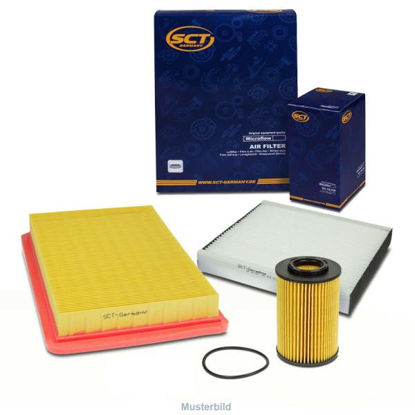 Inspektionskit Öl Luft Kombifilter f. Peugeot 206 Schrägheck 2A/C CC 2D SW 2E/K