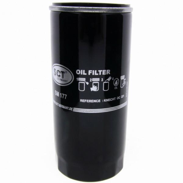SCT Ölfilter SM177 Filter Motorfilter Servicefilter Anschraubfilter Dichtung
