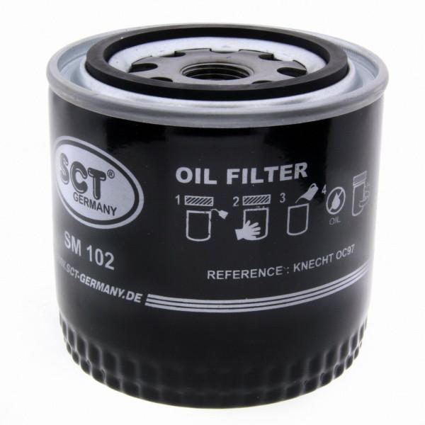 SCT Ölfilter SM102 Filter Motorfilter Servicefilter Anschraubfilter Dichtung