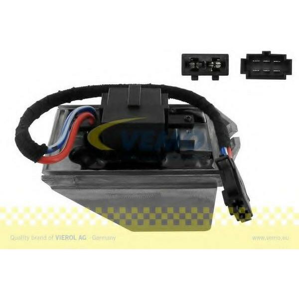 VEMO Regler Regulierung Knauf Innenraumgebläse 6Q2 907 521 B für AUDI VW