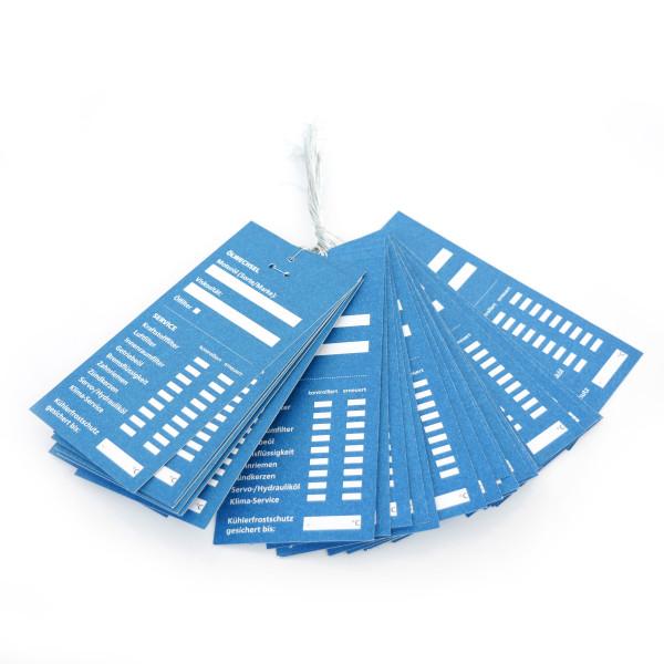 Serviceanhänger Blau eBay 50 Stück