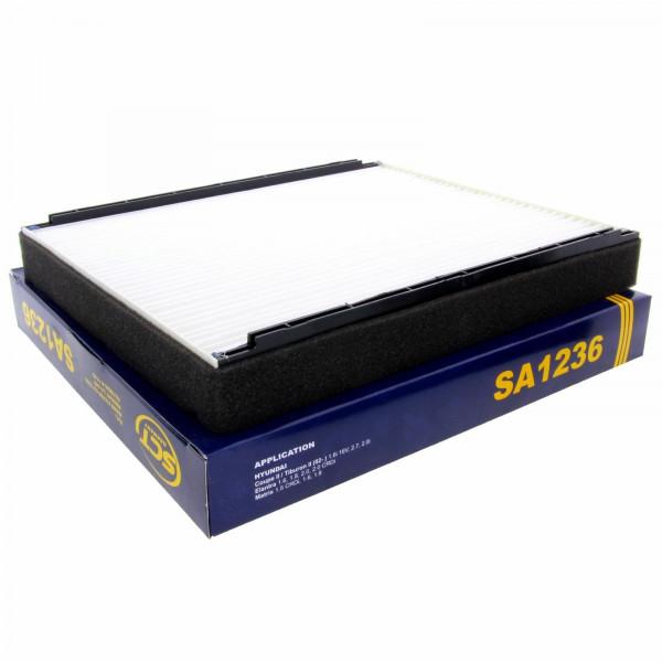 SCT Innenraumfilter Luftfilter SA1236 Pollenfilter Luft Filter