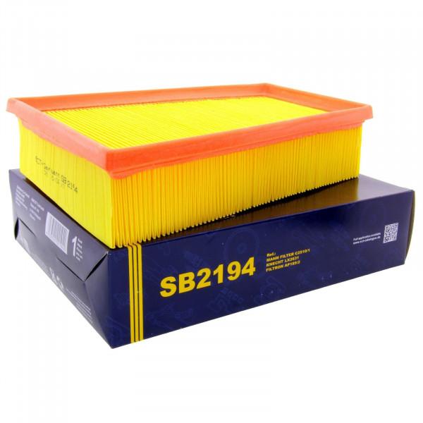 SCT Luftfilter Fahrzeugfilter SB2194 Motorfilter Servicefilter Ersatzfilter