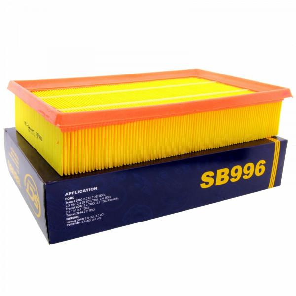 SCT Luftfilter Fahrzeugfilter SB996 Motorfilter Servicefilter Ersatzfilter