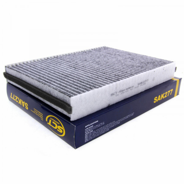 SCT Innenraumfilter Fahrzeugfilter mit Aktivkohle SAK277 Luft Filter