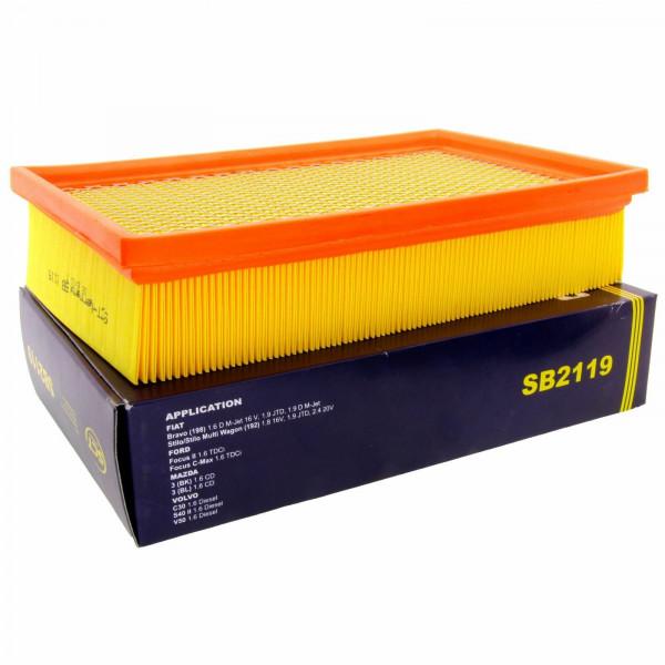 SCT Luftfilter Fahrzeugfilter SB2119 Motorfilter Servicefilter Ersatzfilter
