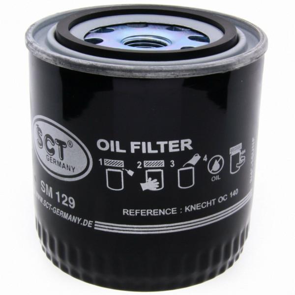 SCT Ölfilter SM129 Filter Motorfilter Servicefilter Anschraubfilter Dichtung