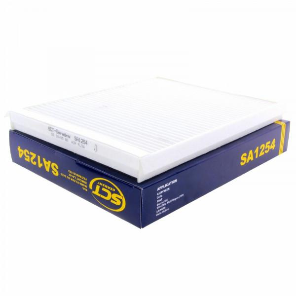SCT Innenraumfilter Luftfilter SA1254 Pollenfilter Luft Filter