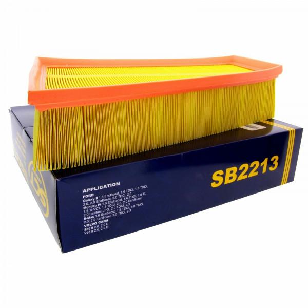 SCT Luftfilter Fahrzeugfilter SB2213 Motorfilter Servicefilter Ersatzfilter