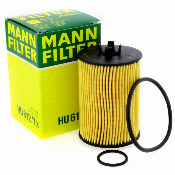 MANN Ölfilter HU6121X Filter Mercedes Benz A-Class W169 B-Class W245