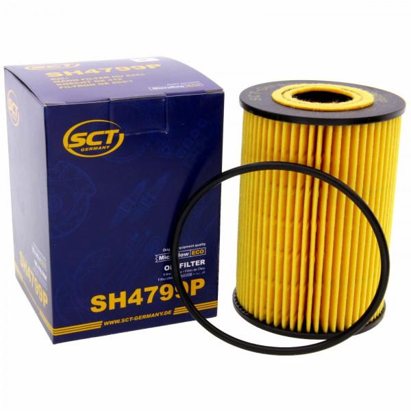 SCT Ölfilter Fahrzeugfilter SH4799P Motorfilter Servicefilter Ersatzfilter