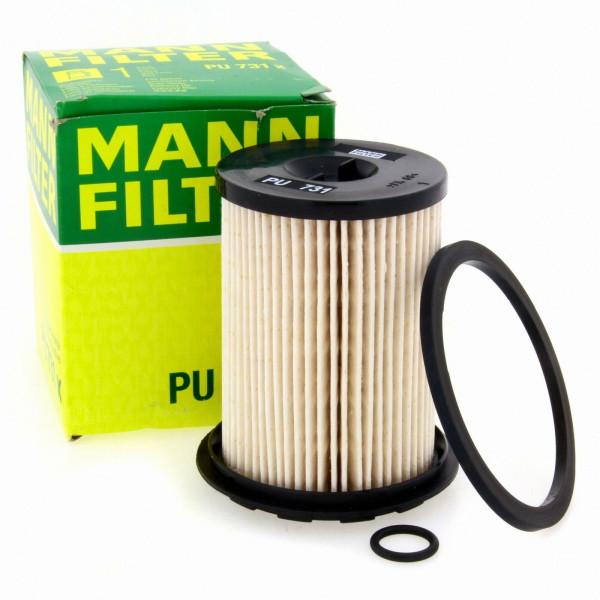MANN Kraftstofffilter Fahrzeugfilter PU731X Filter Nissan Opel Renault