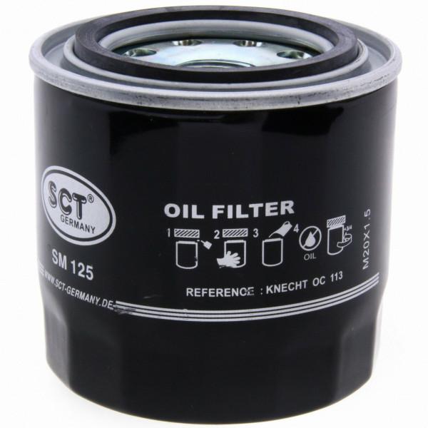 SCT Ölfilter SM125 Filter Motorfilter Servicefilter Anschraubfilter Dichtung