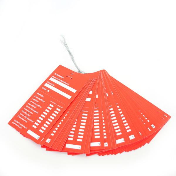 Serviceanhänger Rot eBay 50 Stück